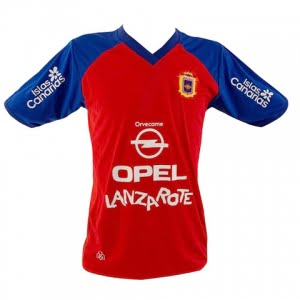 Lanzarote Football red shirt