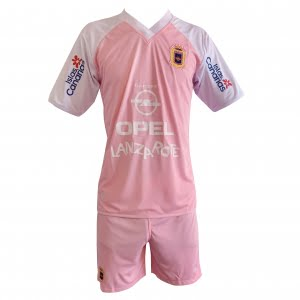 Lanzarote Football pink shirt shorts