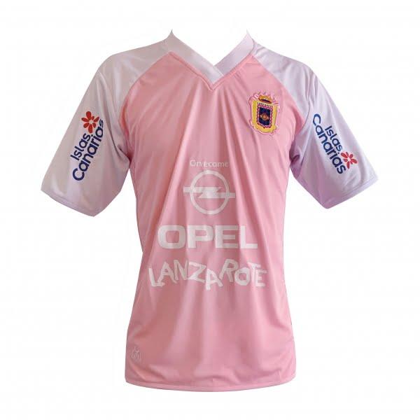Lanzarote Football pink shirt