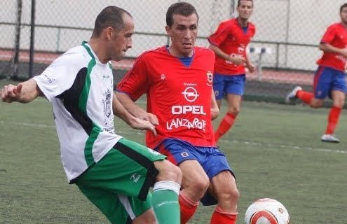Lanzarote´s star player number 16 Toñito
