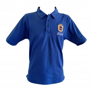 Lanzarote Football blue polo